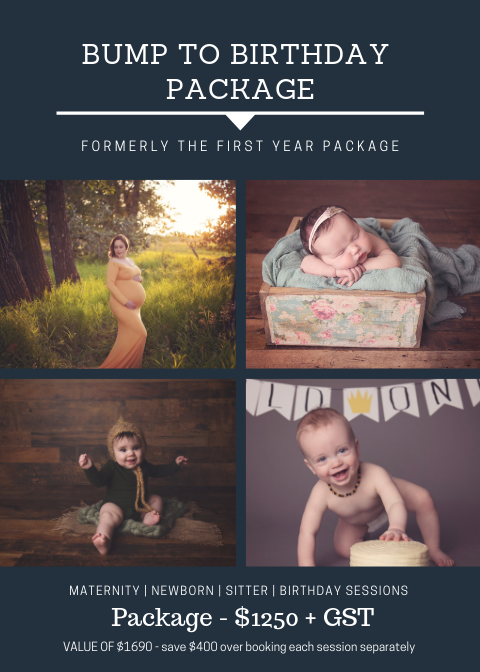 Bump to Birthday Package