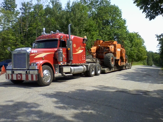 oversize freight carrier ontario