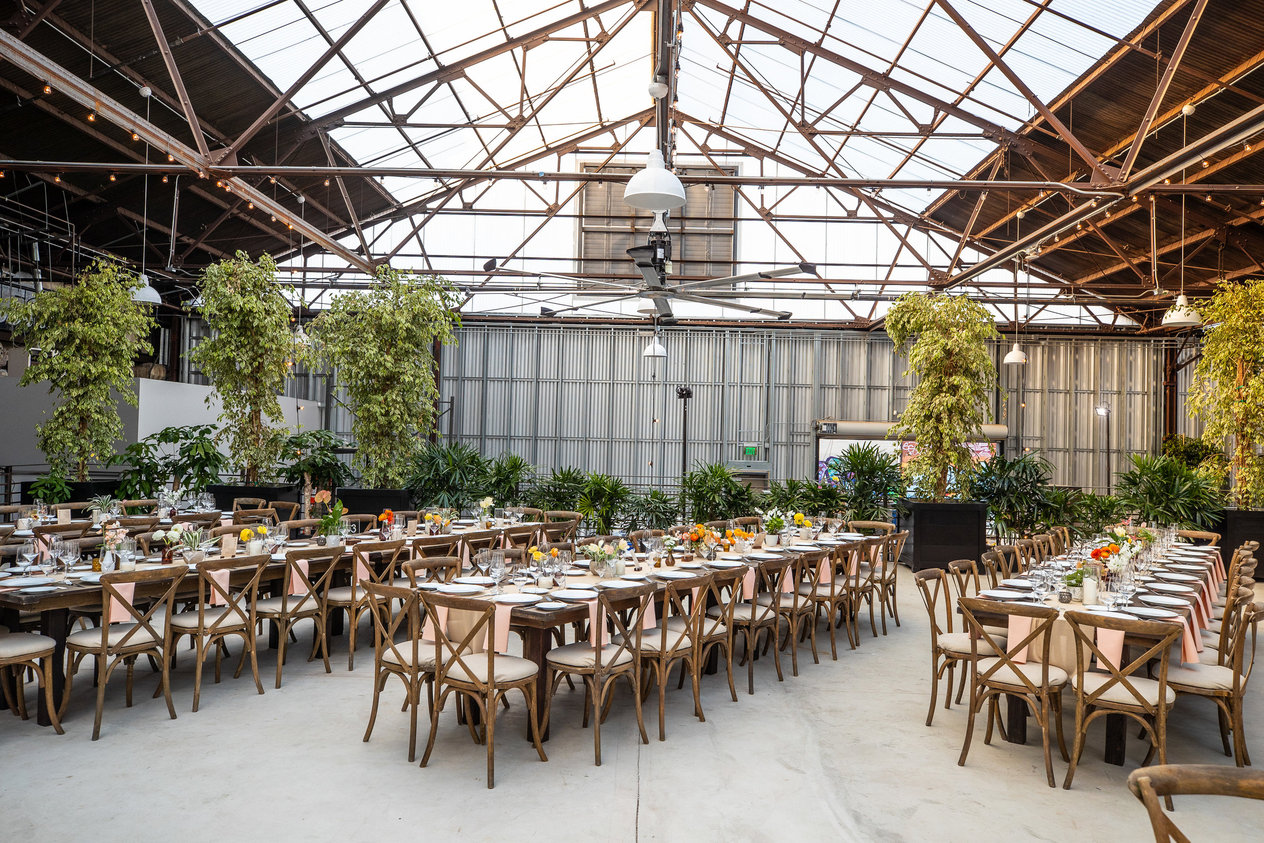 rolling greens family-style wedding