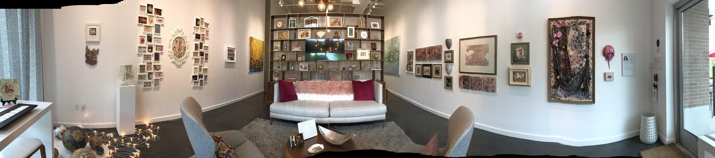 Installation view, Suzanne Zahr Gallery