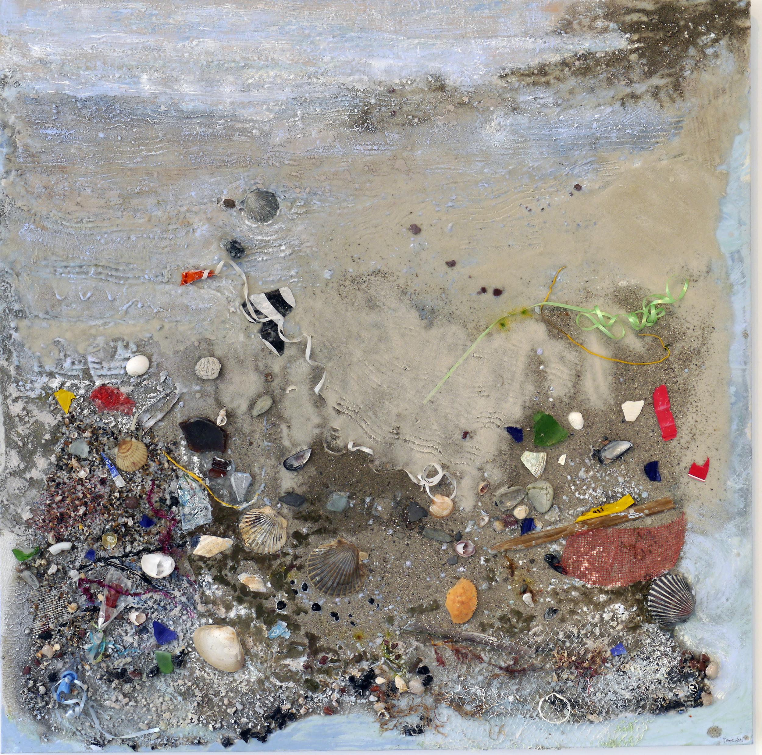 """Shoreline # 10"": Sandbar"