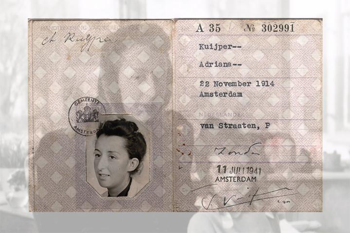 False Identity Card Julia Broches