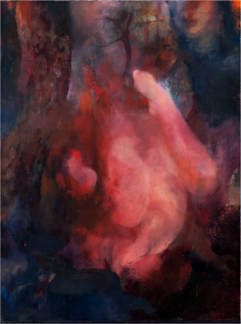 Silent Thorn #3 , Oil on Canvas, 40''x 30''.png