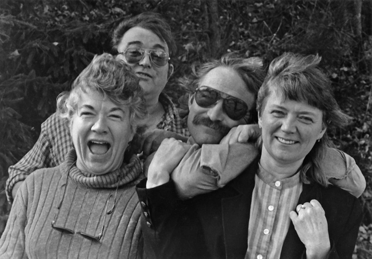 Mom, Uncle Walt, Uncle Charles, Aunt Dianne