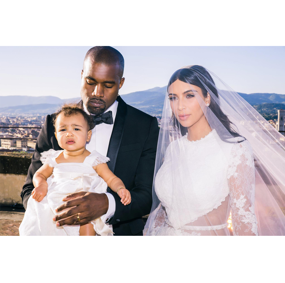 Kanye West & Kim Kardashian // Wedding // Florence, Italy