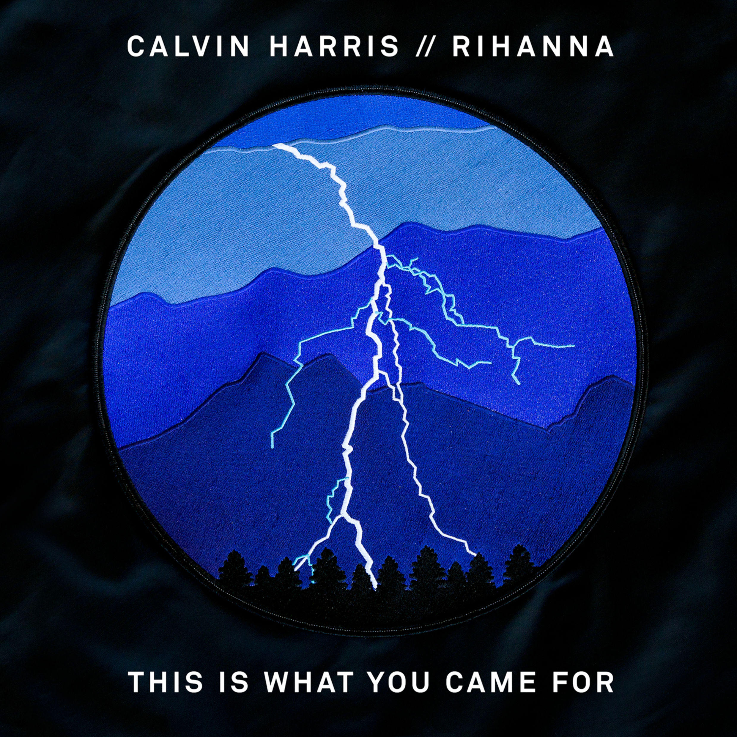 This is what you came for // Calvin Harris + Rihanna artwork