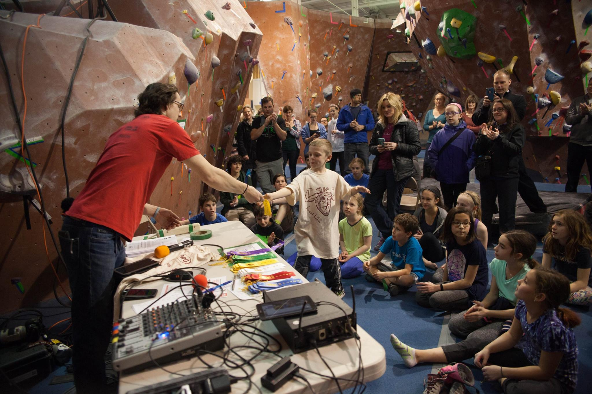 Images taken by Philadelphia Rock Gyms