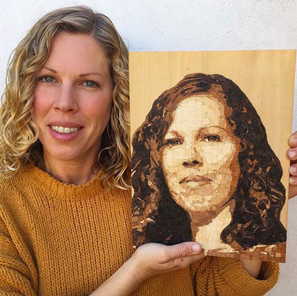 Lindsey wood portrait