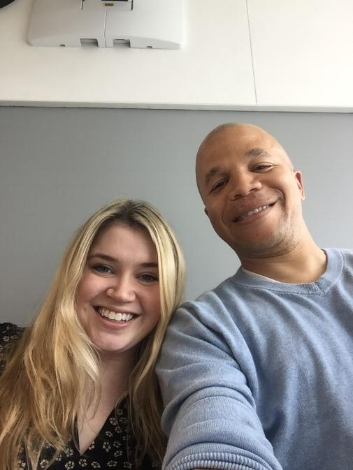 Kelly and Amani