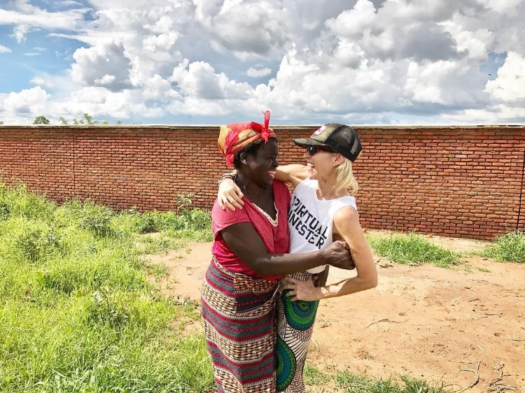 Cindee Rood in Malawi