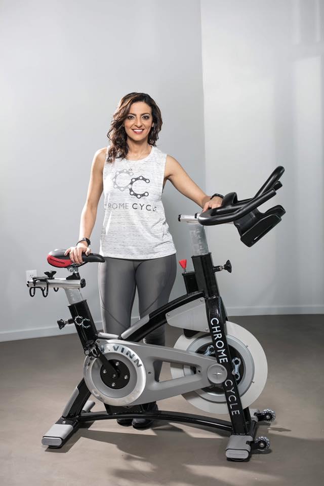 Ninette Wassef Chrome Cycle Studio