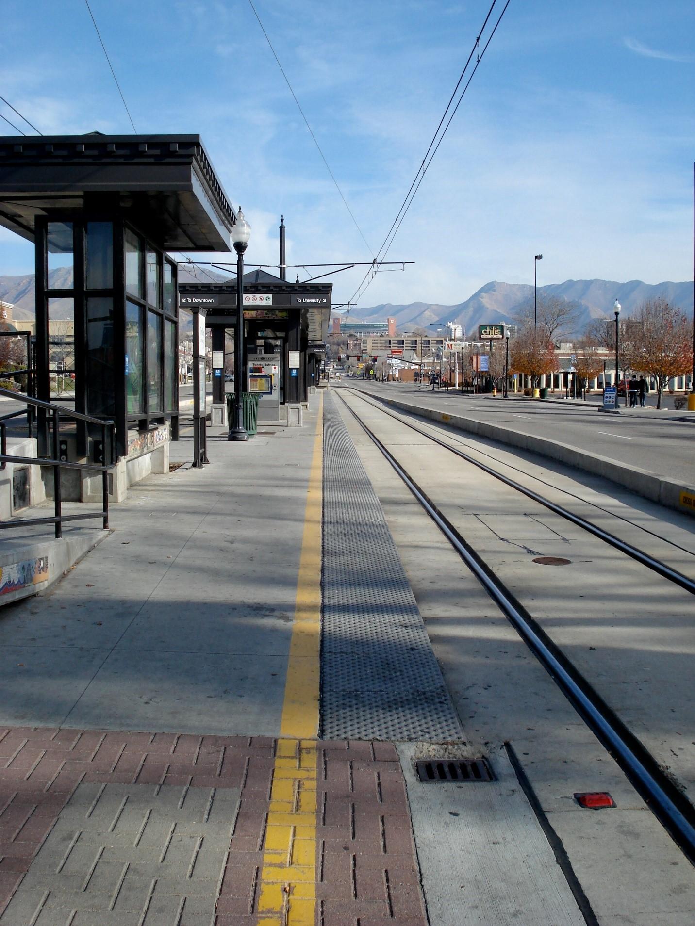 Trolley Station – Salt Lake City, UT
