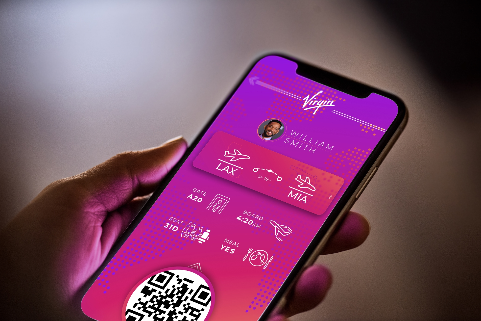 Personal Project: Mobile Boarding Pass