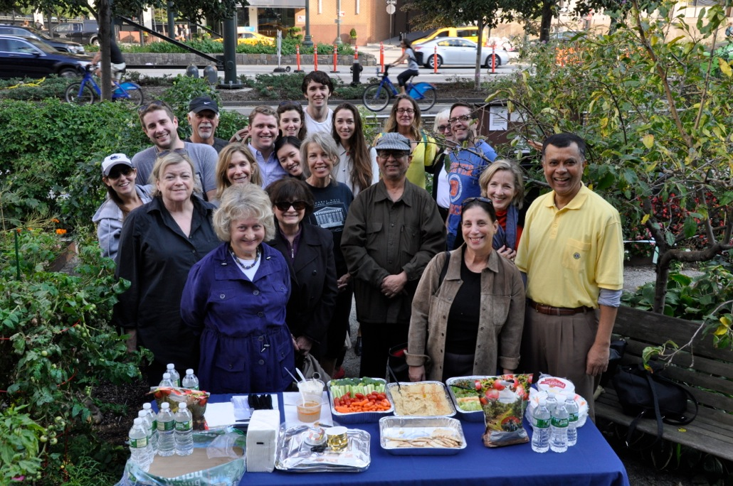 Liberty Community Garden Members & Family Members at the Harvest Festival