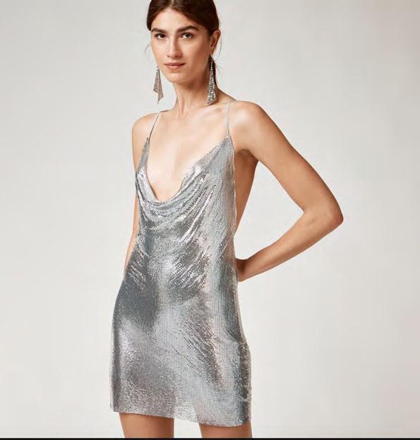 Dress is sheer