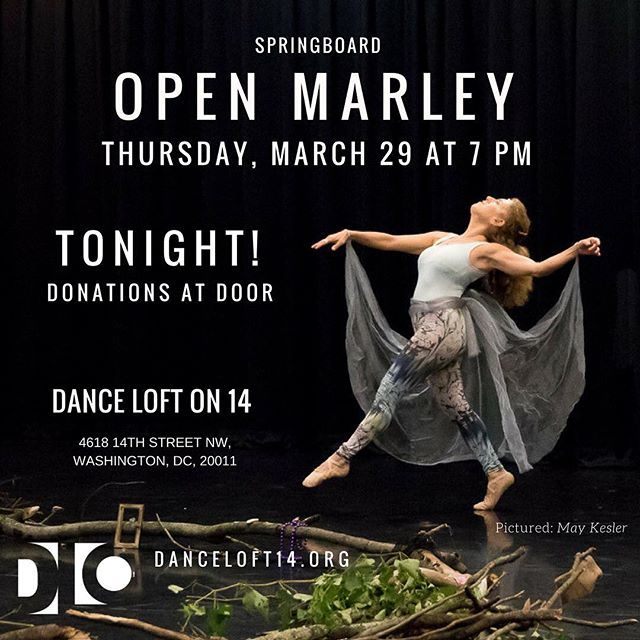 See you tonight! #springboarddc2018 #dcdancers #ward4dc