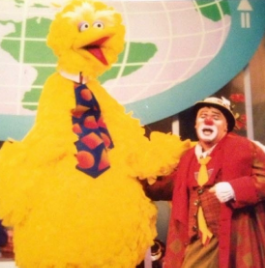 Wolf Trap, VA   - International Children's Festival   with Big Bird (Caroll Spinney)  .