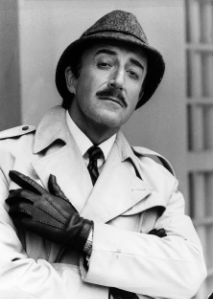 Peter Sellers,   Chief  Inspector  Jacques  Clouseau