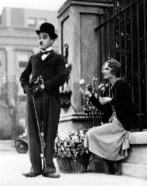Charlie Chaplin,  master physical comedian.