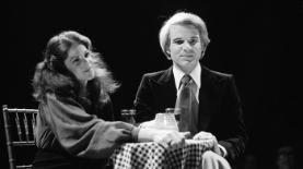 Gilda Radner and Steve Martin,  accomplished more with what they did than what they said.