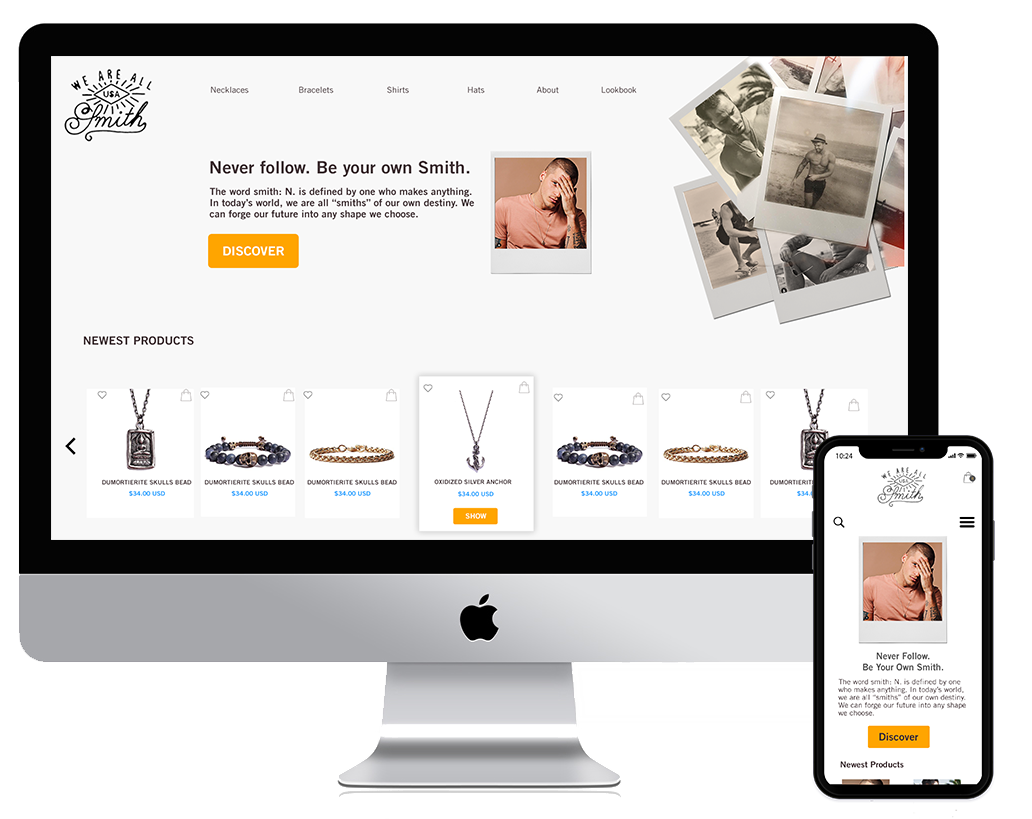 ECOMMERCE MOBILE AND WEBSITE REDESIGN