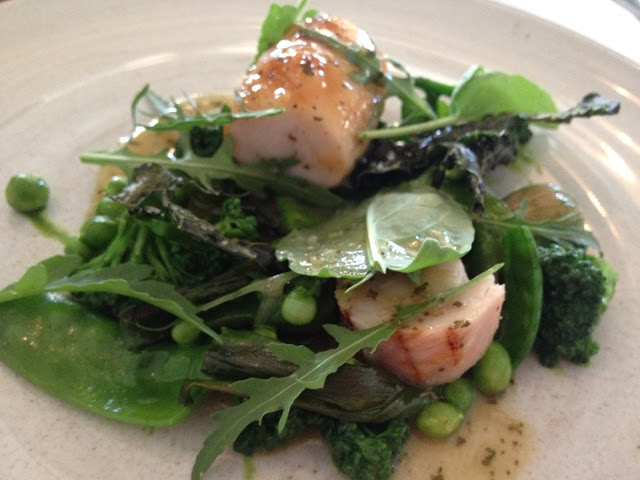 Cache Valley Rabbit, Green Vegetables & Leaves