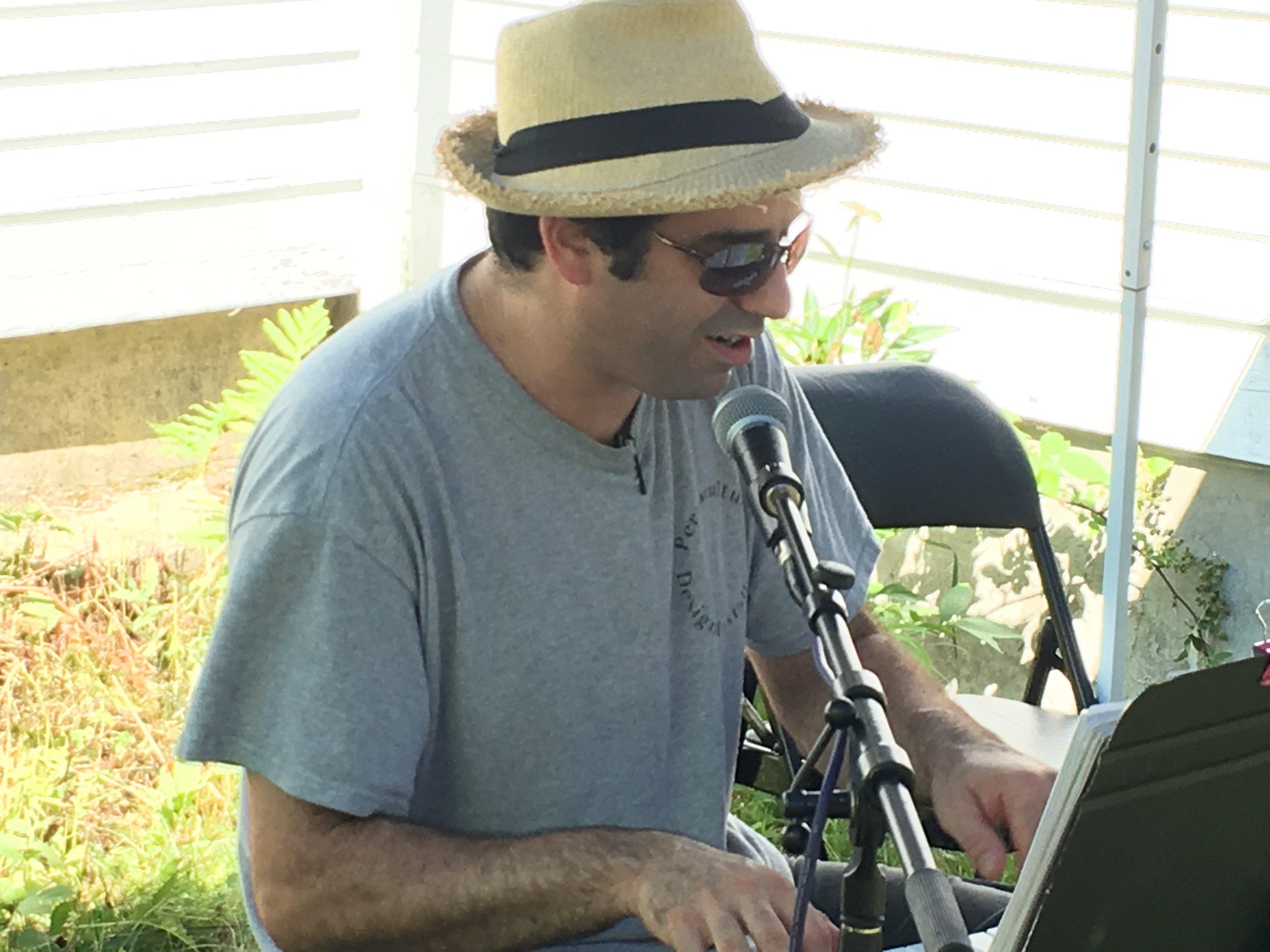 Windsor's own piano man, Benny Kohn