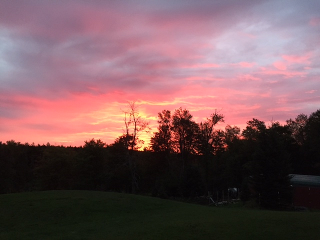 Late September Sunrise
