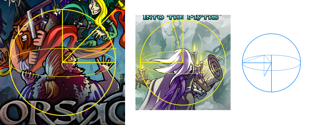 Boxart character and point-of-view angles. Left-to-right: original game, first expansion, anticipated second expansion.