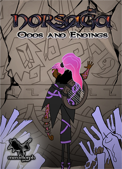 Draft of colored final boxart, without lighting or shading.
