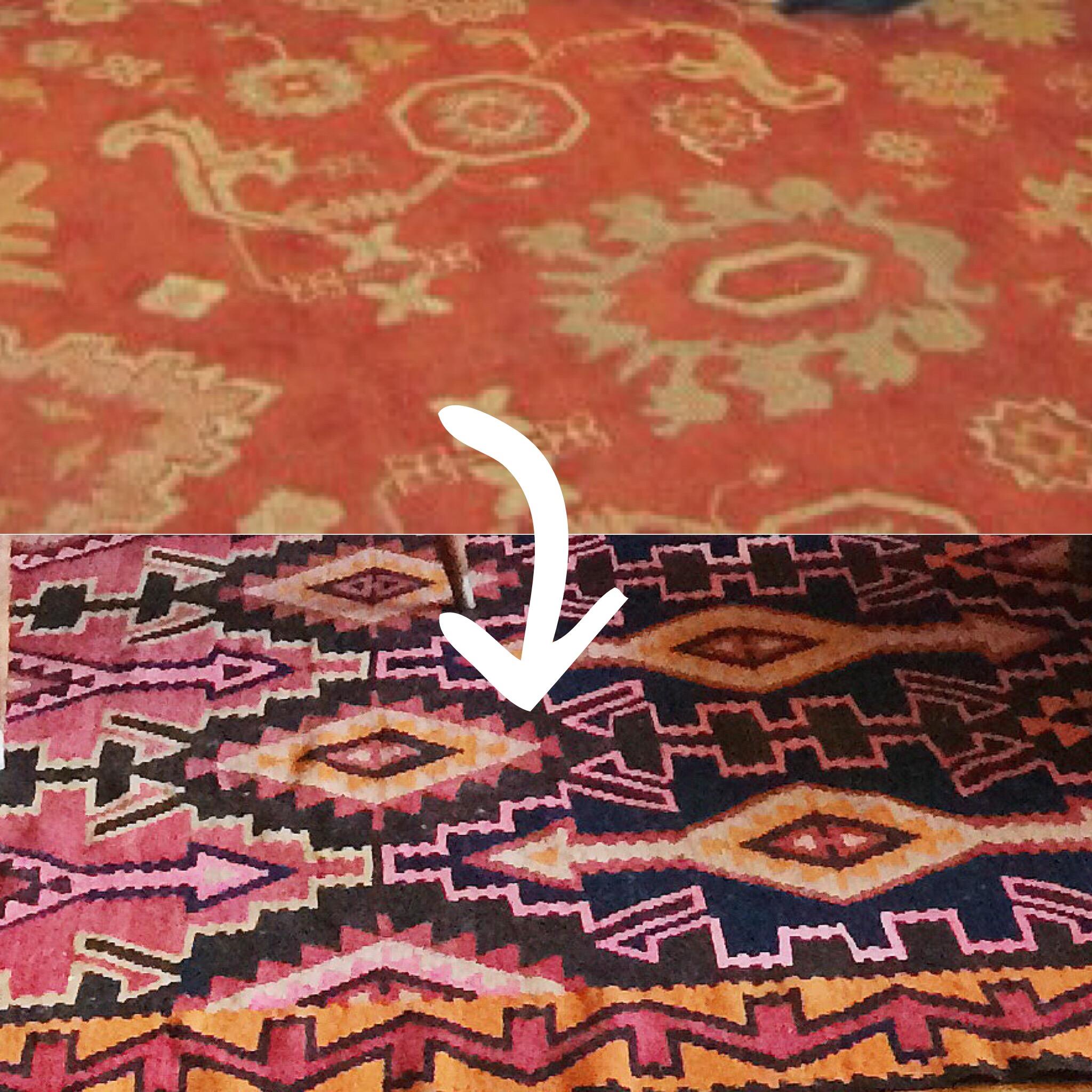 rug progression daly house