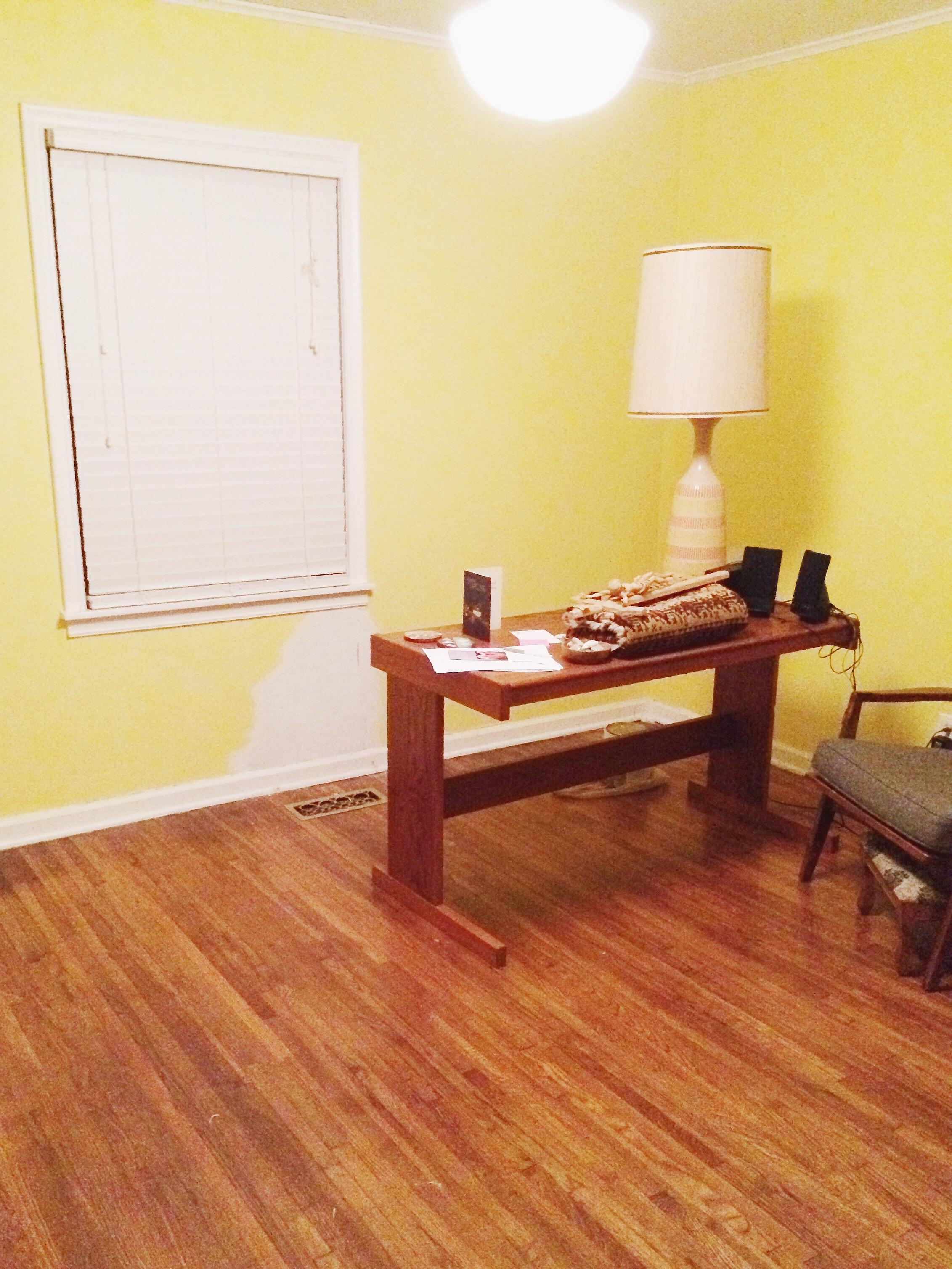 minimizing prepping a room
