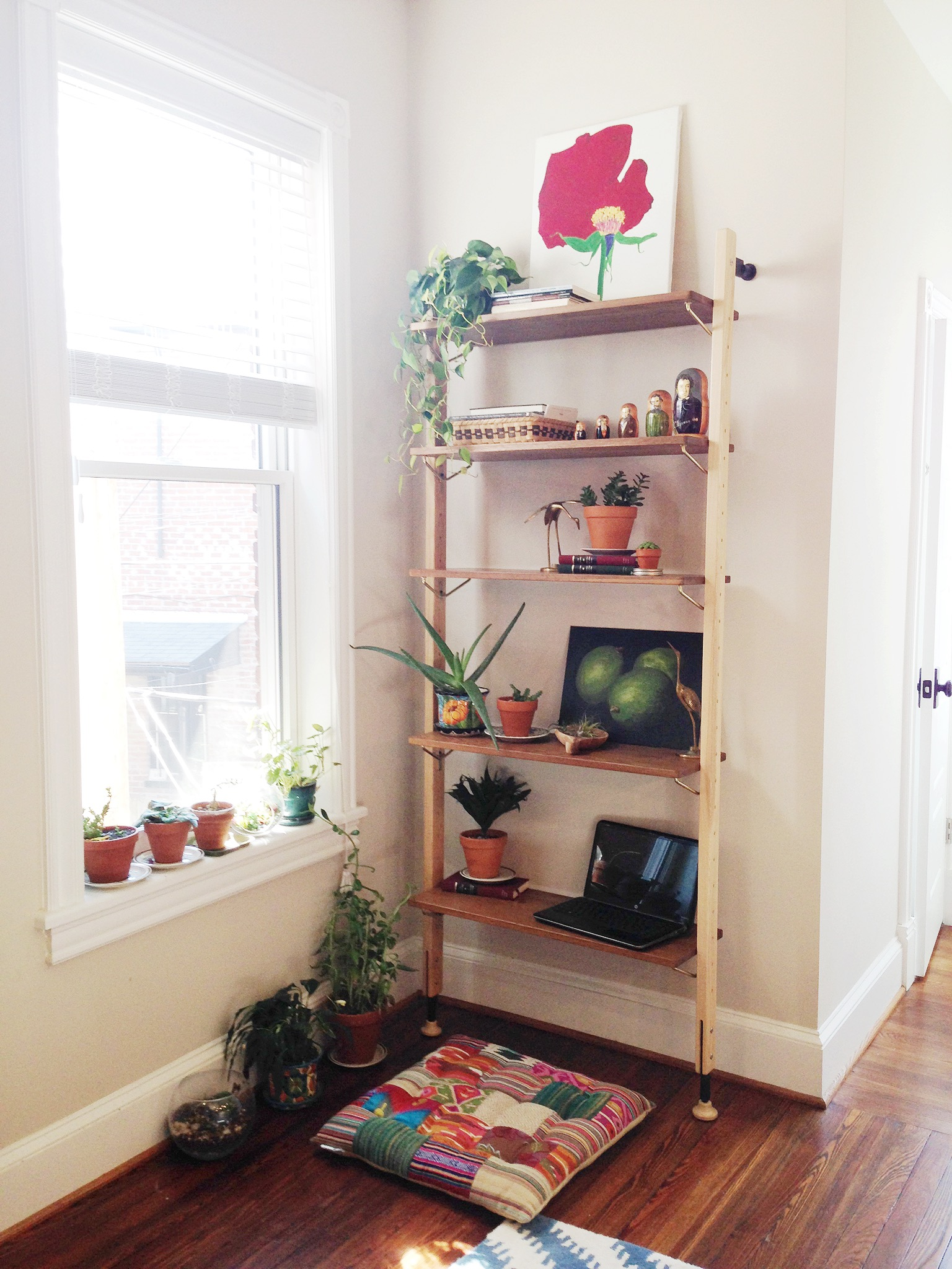 boho eclectic after photo