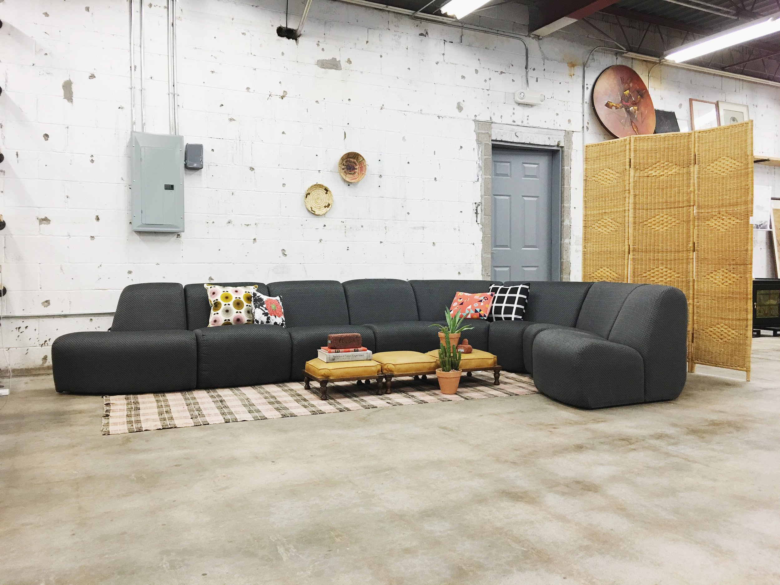 70s vecta sectional