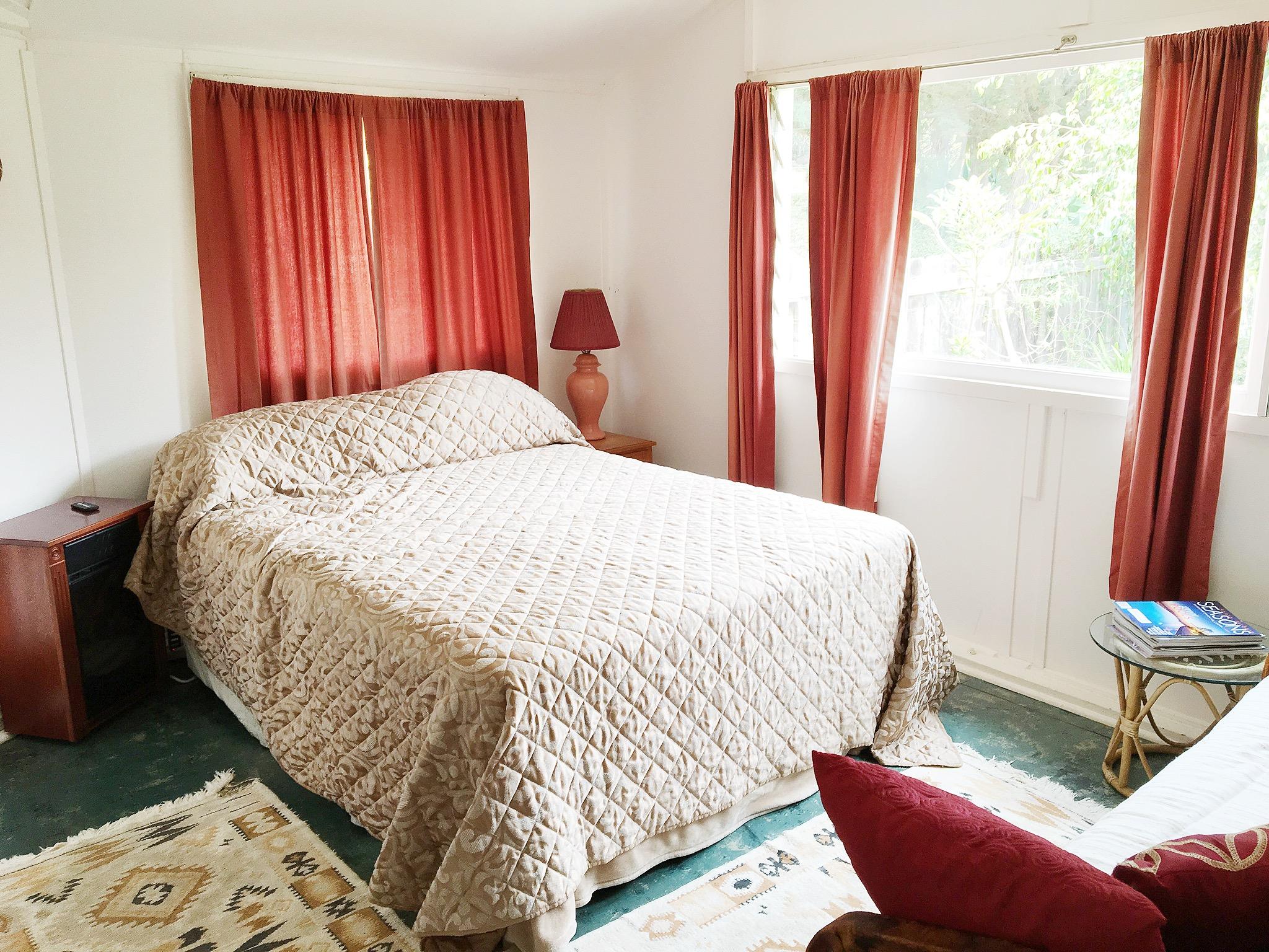 Boho Style California Airbnb Bedroom