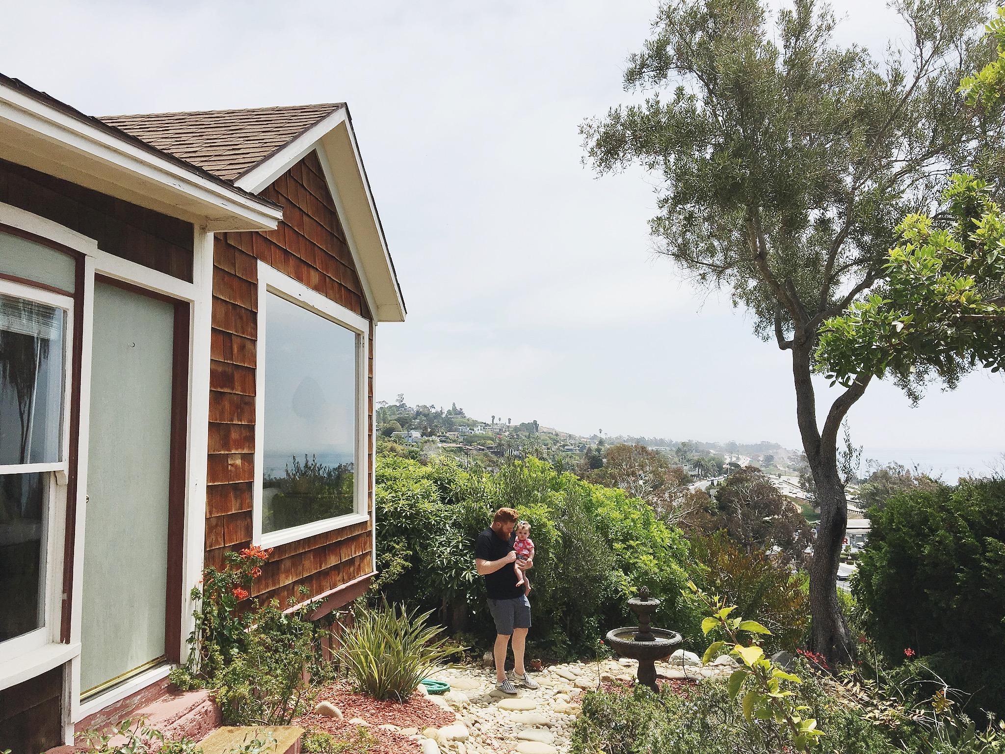 California boho airbnb beach house