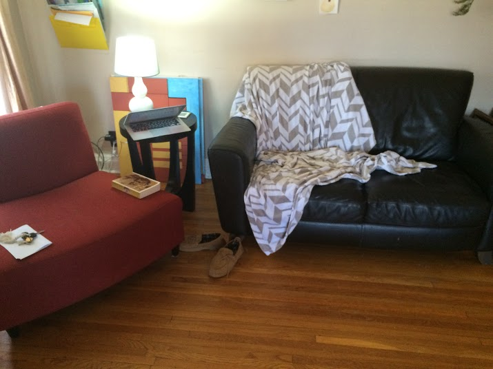 Living Room: New Layout, Original Furniture