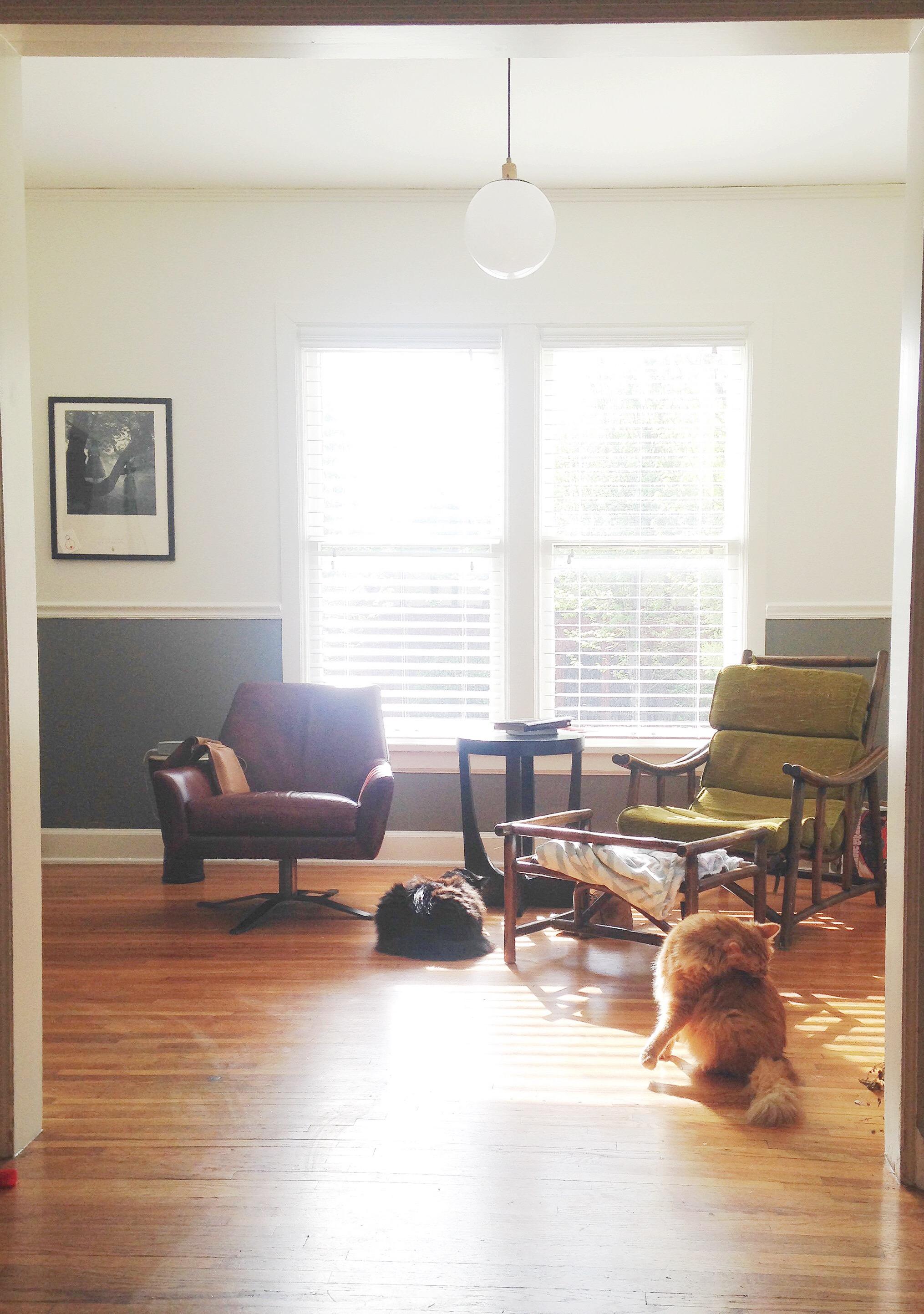 Sunroom: New Layout, Original Furniture