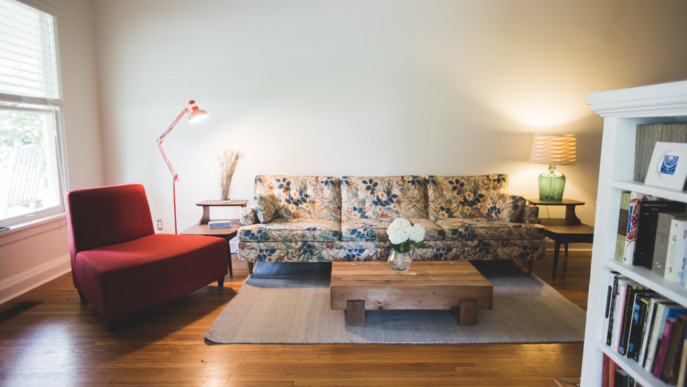 Living Room: After    //Photo by   Molly Thrasher Visuals  //