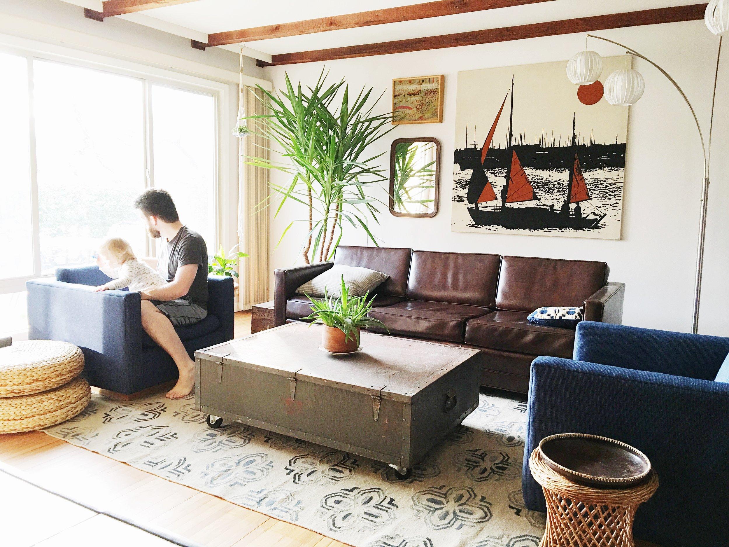 rusticmodernlivingroom