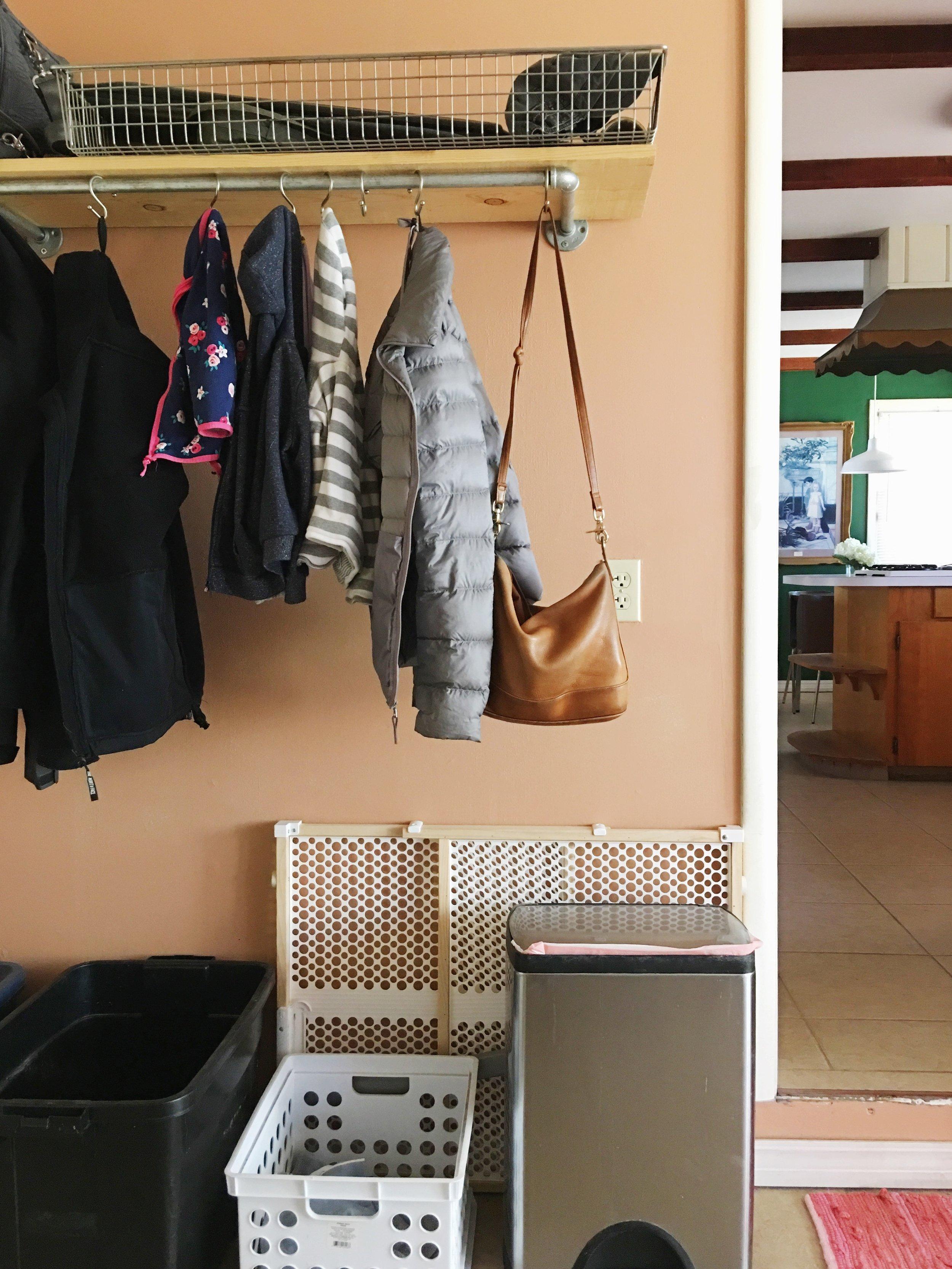 coat storage entryway