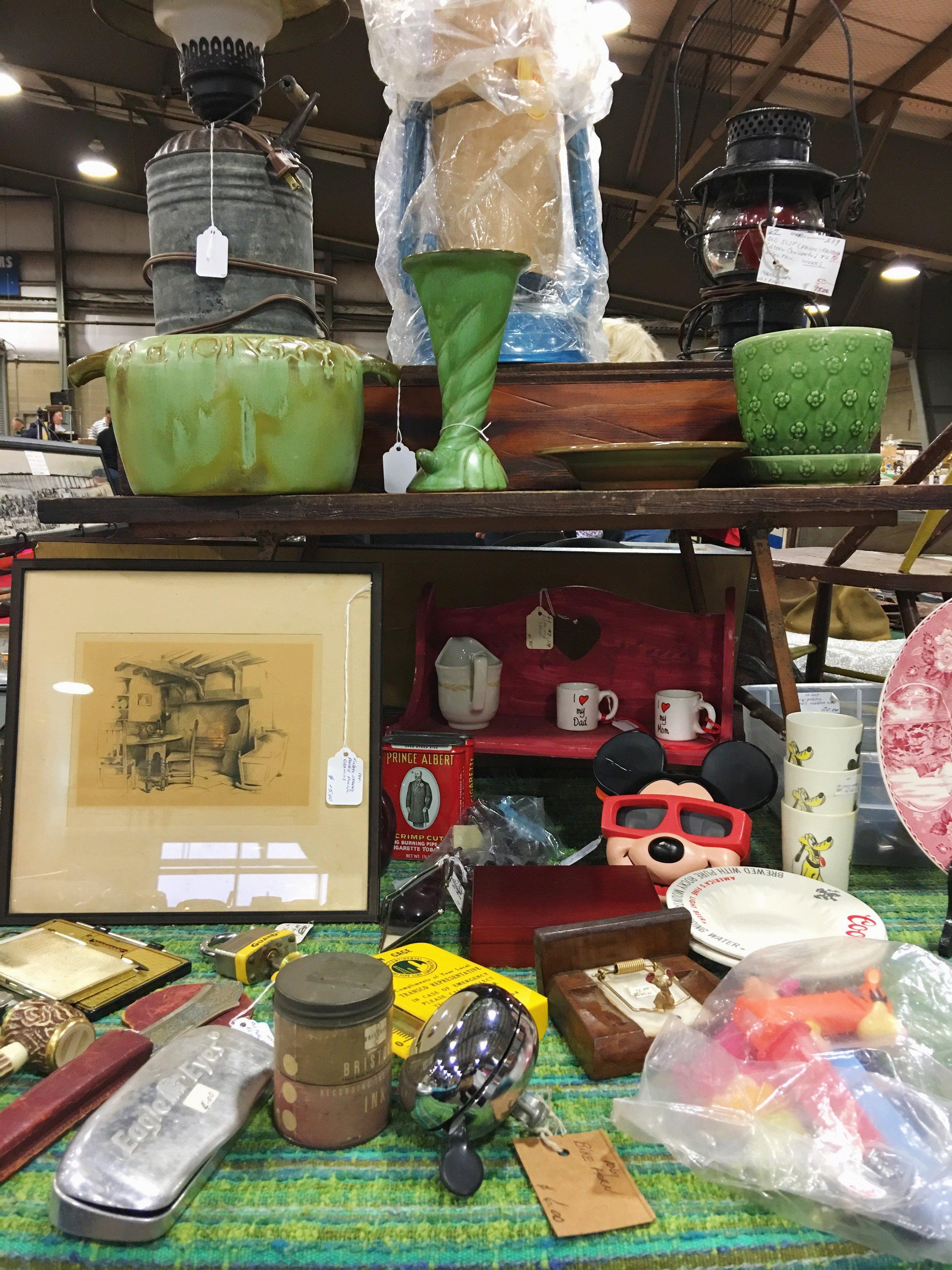 tulsa flea market booth