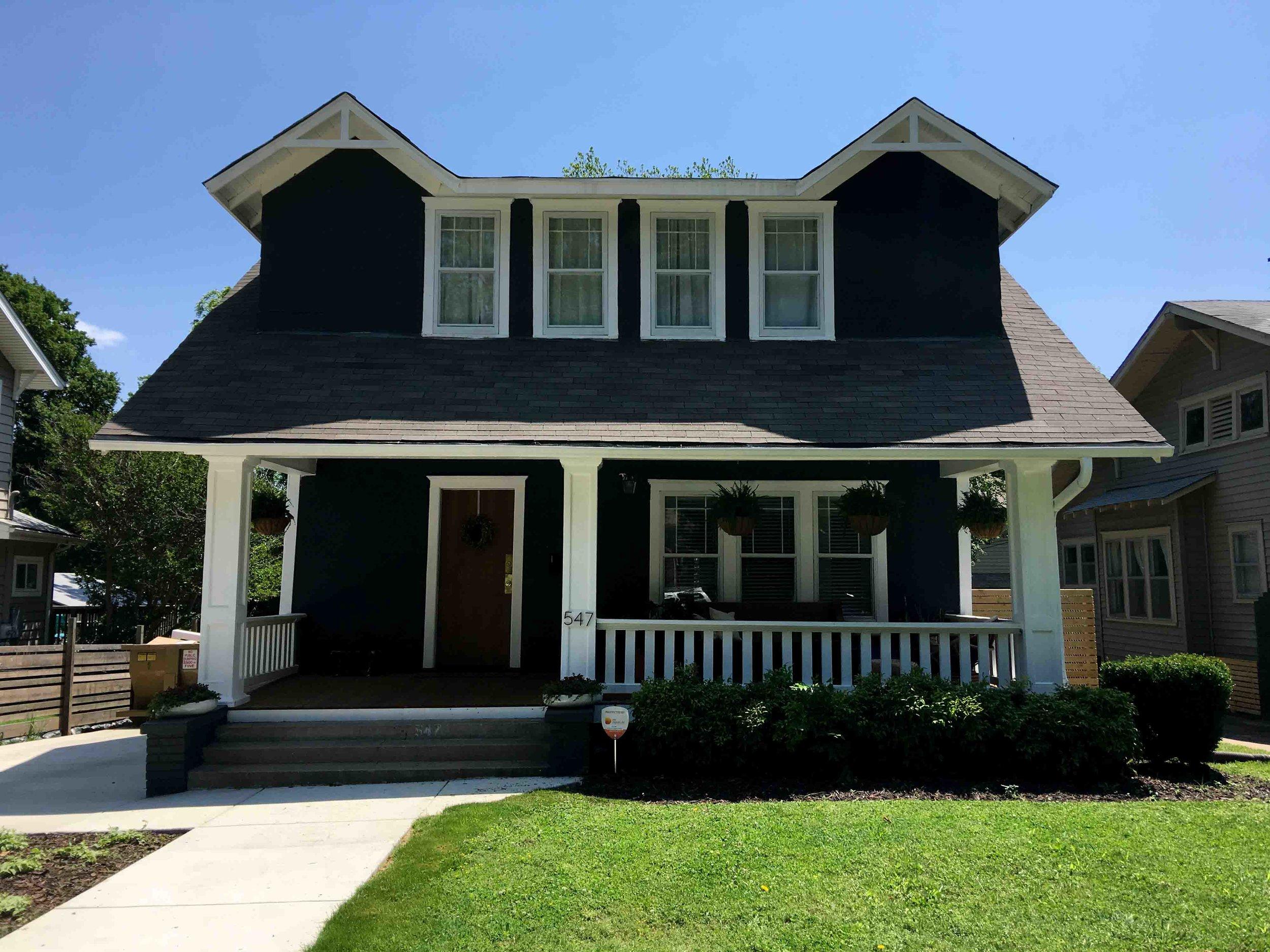 black-exterior-house-paint