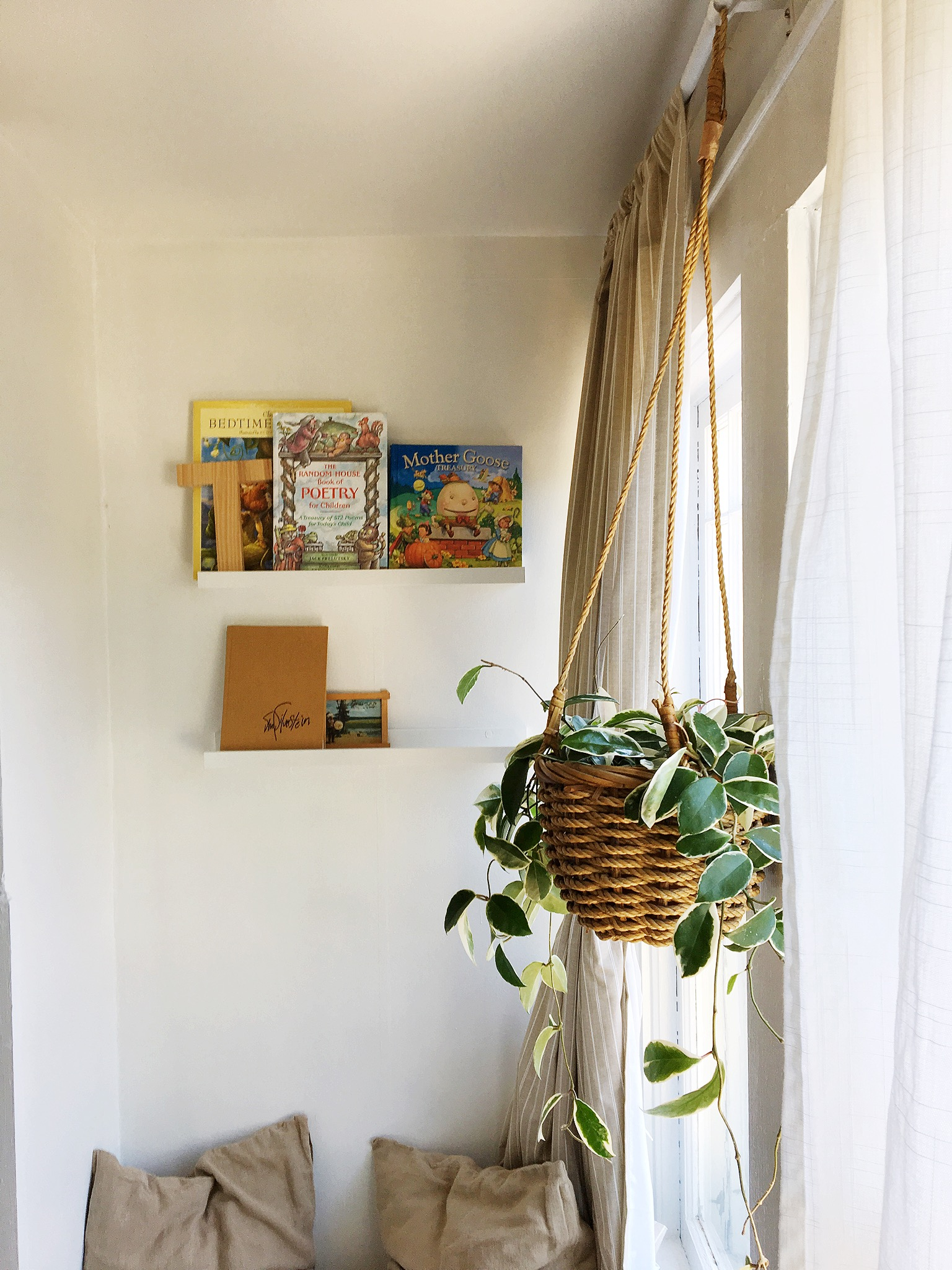 Speaking of loving restoration, we got to hang out in  Emily Netz's beautiful historic home  again. This time for a  home styling session  for her little boys' room.