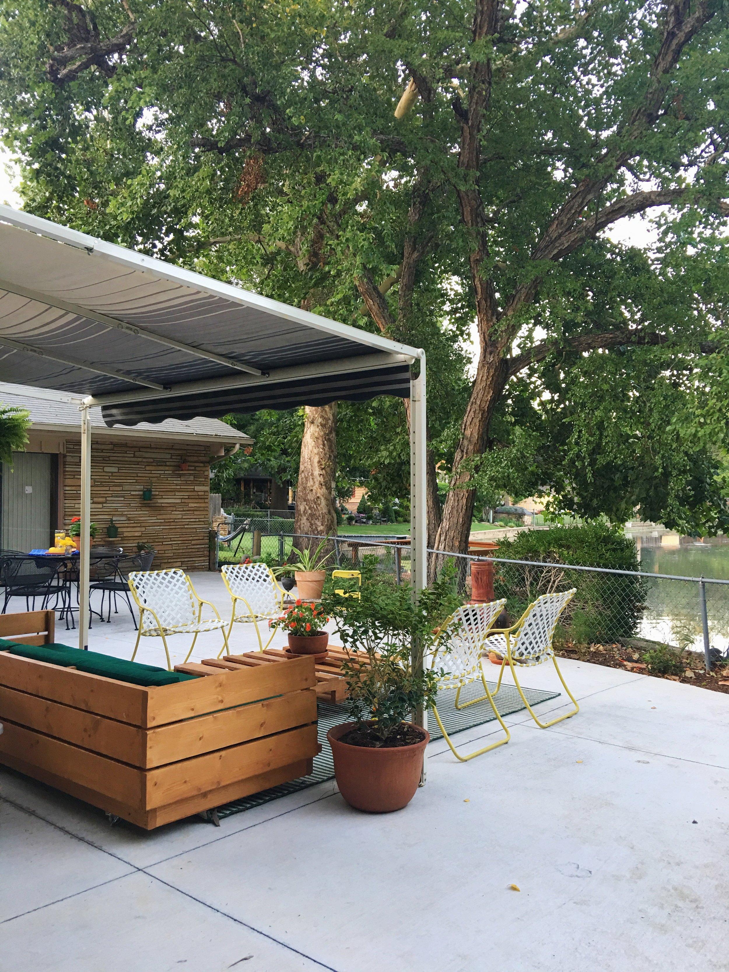 modern outdoor platform sofa diy