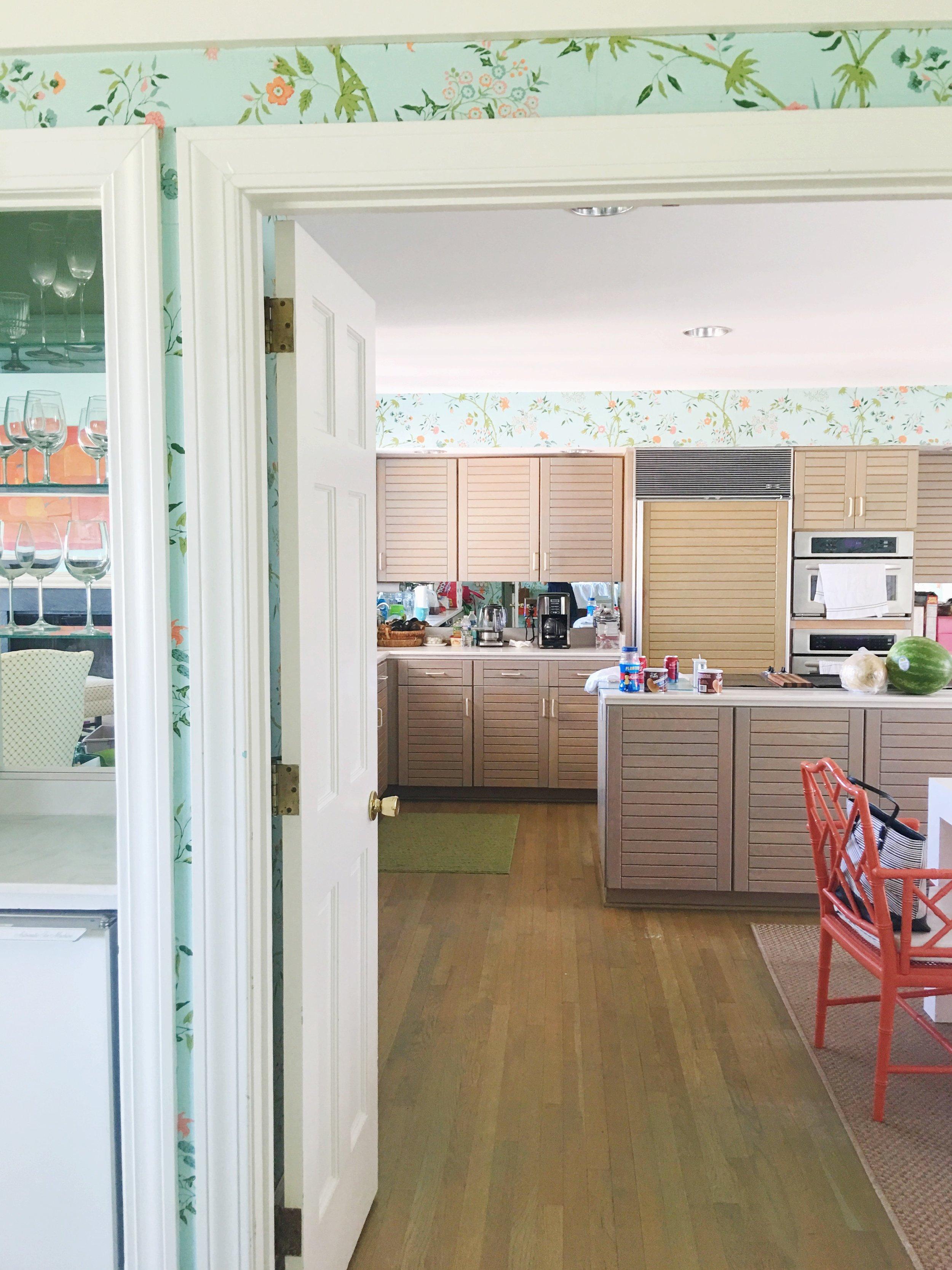 vintage beach house kitchen