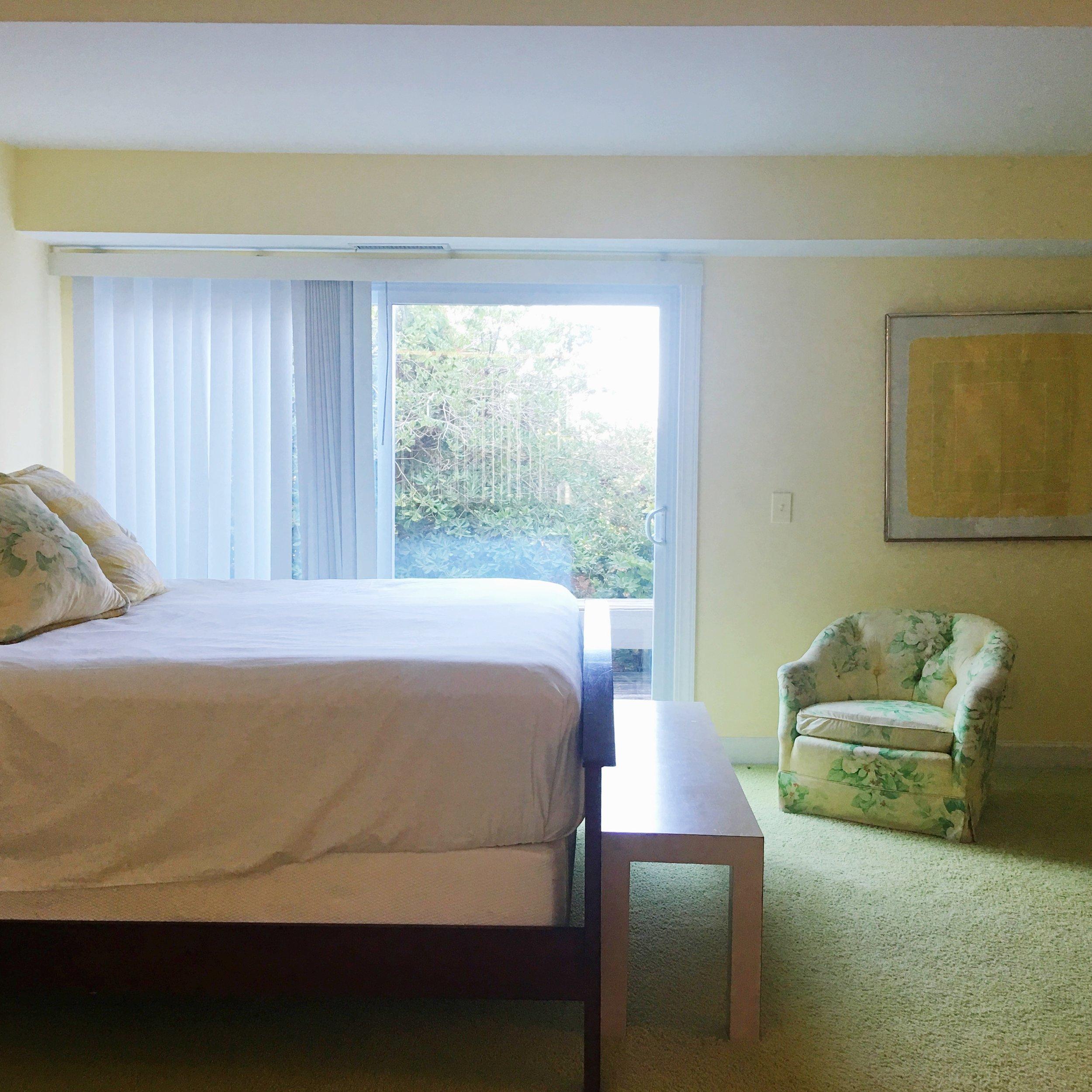 vintage beach house bedroom