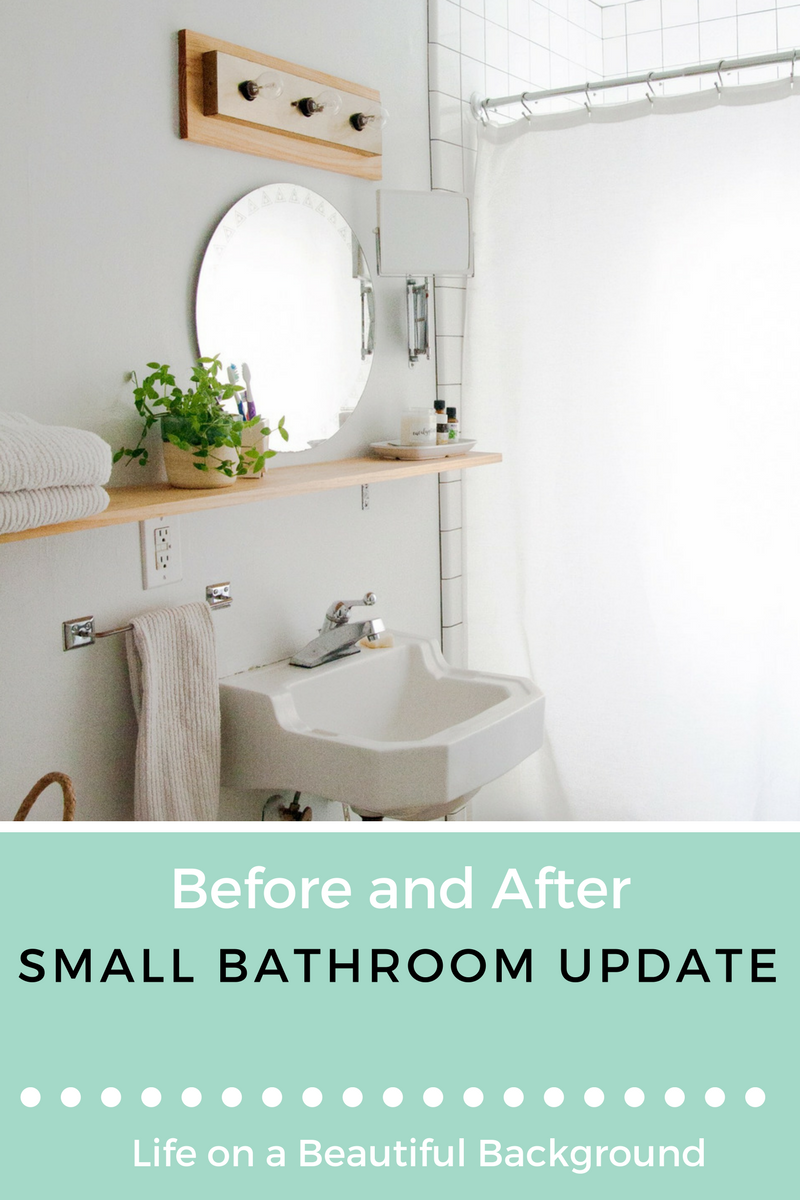 small bathroom update