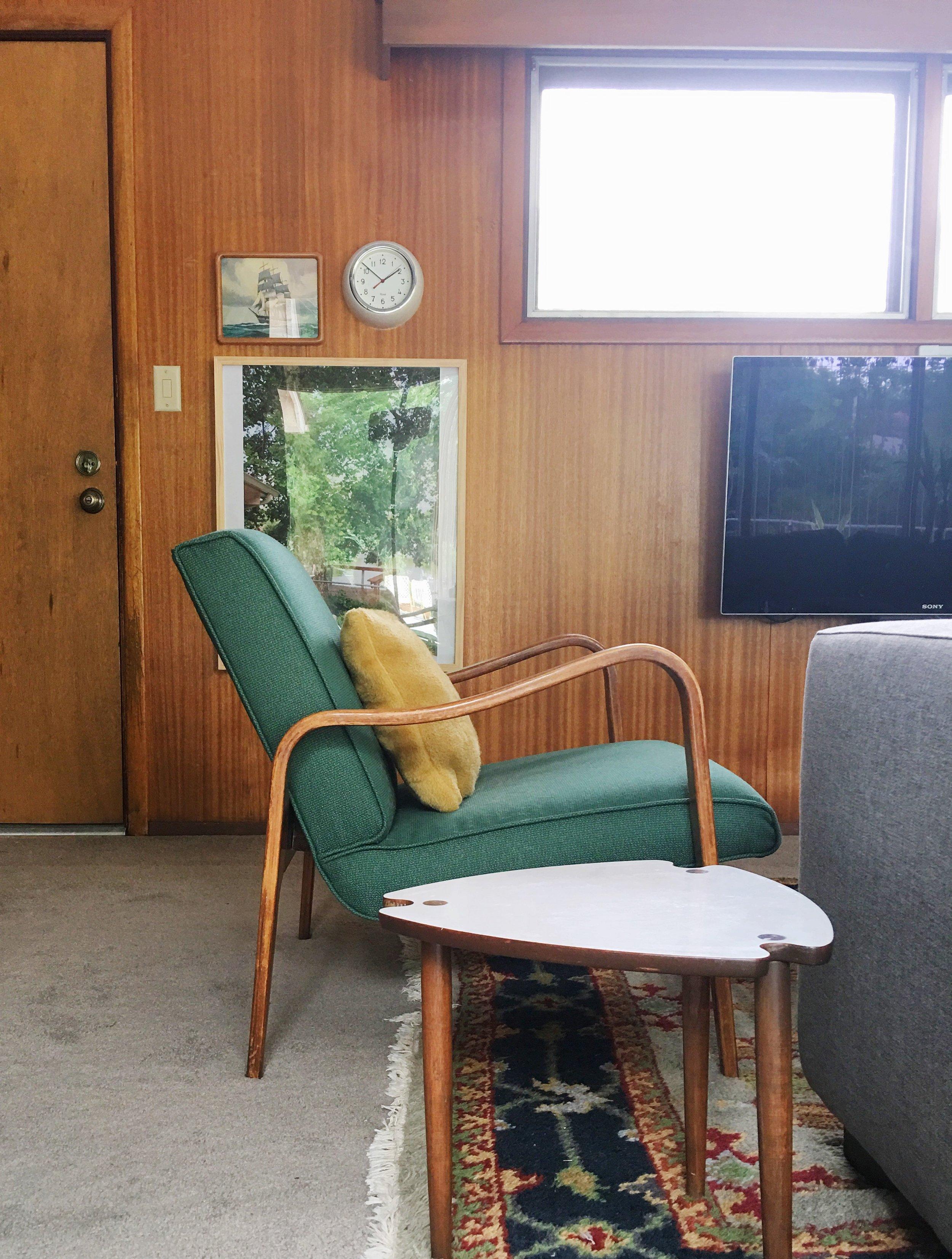 sculptural thonet lounge reupholstered
