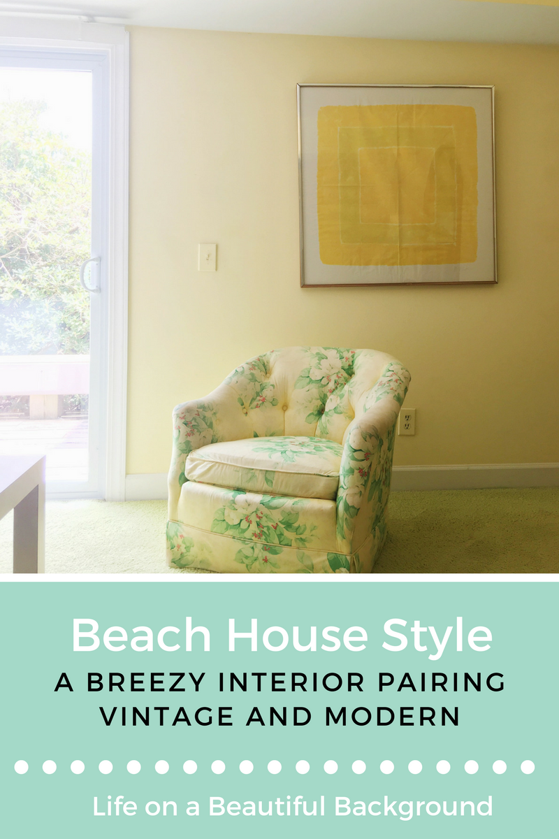 Beach House Style Breezy Interior Pairing Vintage and Modern